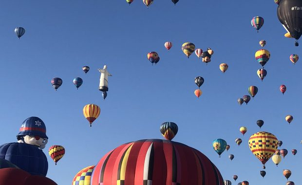 Balloon Fiesta launch