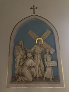 Jesus Consoles the Women of Jerusalem at Immaculate Conception Church Owensville