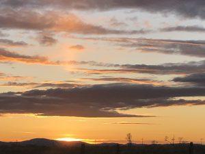 Sunset on the Range
