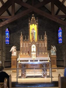 Chapel at Our Lady of Good Help in Wisconsin