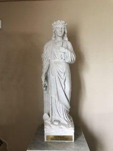 Saint Philomena statue at Saint John Vianney shrine