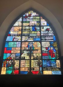 Apostles Creed Window
