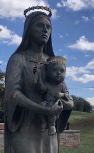 Mary and Jesus Saint Isidore the Farmer Gordonsville