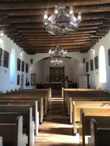 Interior San Ysidro Church