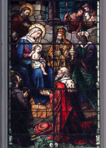 Epiphany Stained Glass Window Chicago Saint Michael