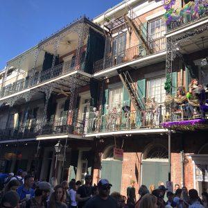 New Orleans at Mardi Gras Season