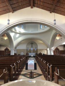New Churches Romanesque Saint Thomas Aquinas UVA