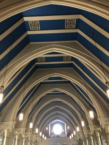 Classic ceiling Corpus Christi Church
