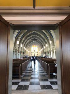 Tardis church of Corpus Christi in Aldie Va