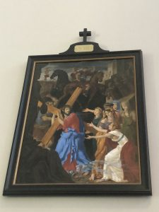 Saint Mary of Sorrows new church Eighth Station of the Cross